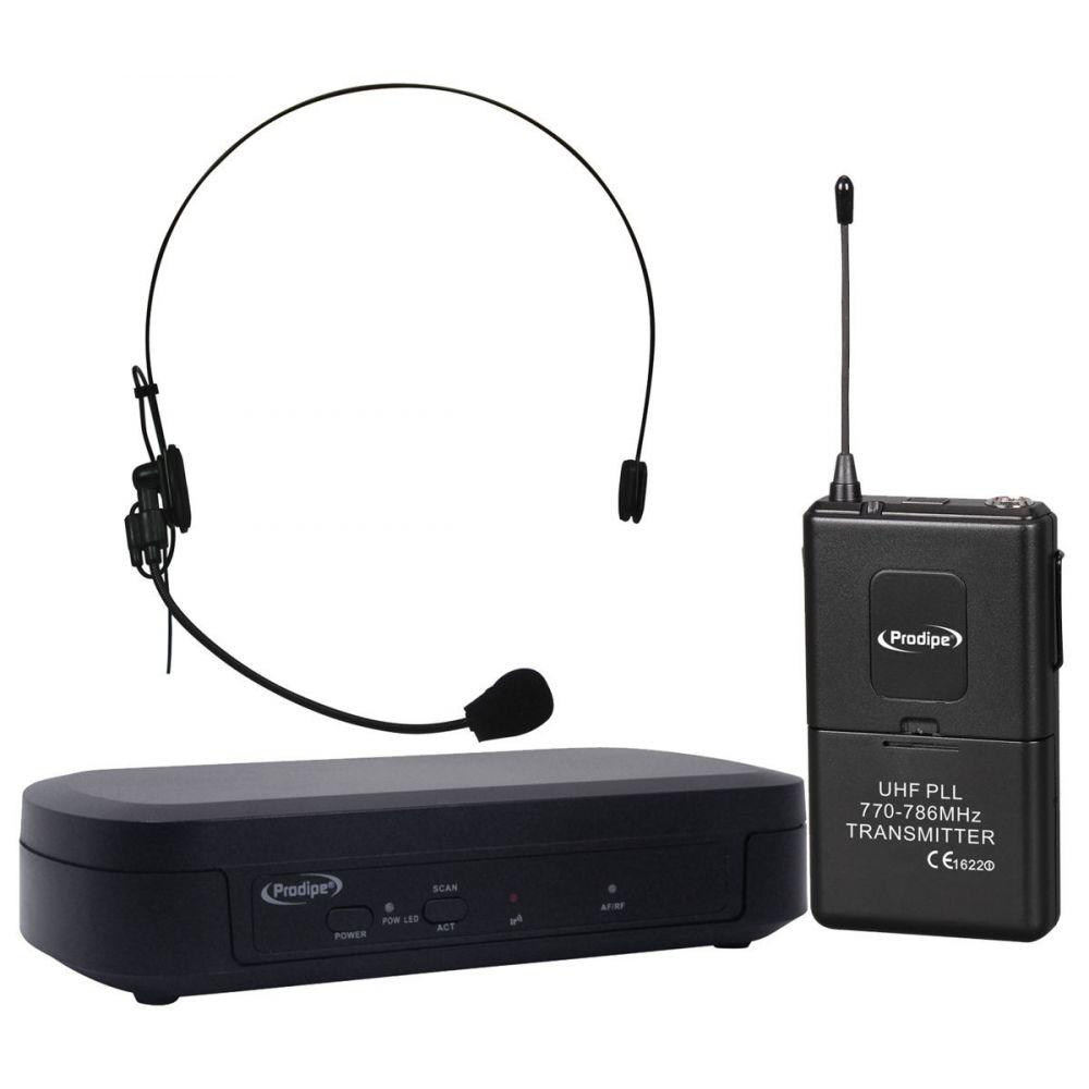 Prodipe Headset 100 UHF - zestaw bezprzewodowy nagłowny