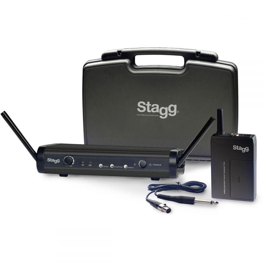 Stagg SUW-30-GBS-B - gitarowy system bezprzewodowy UHF