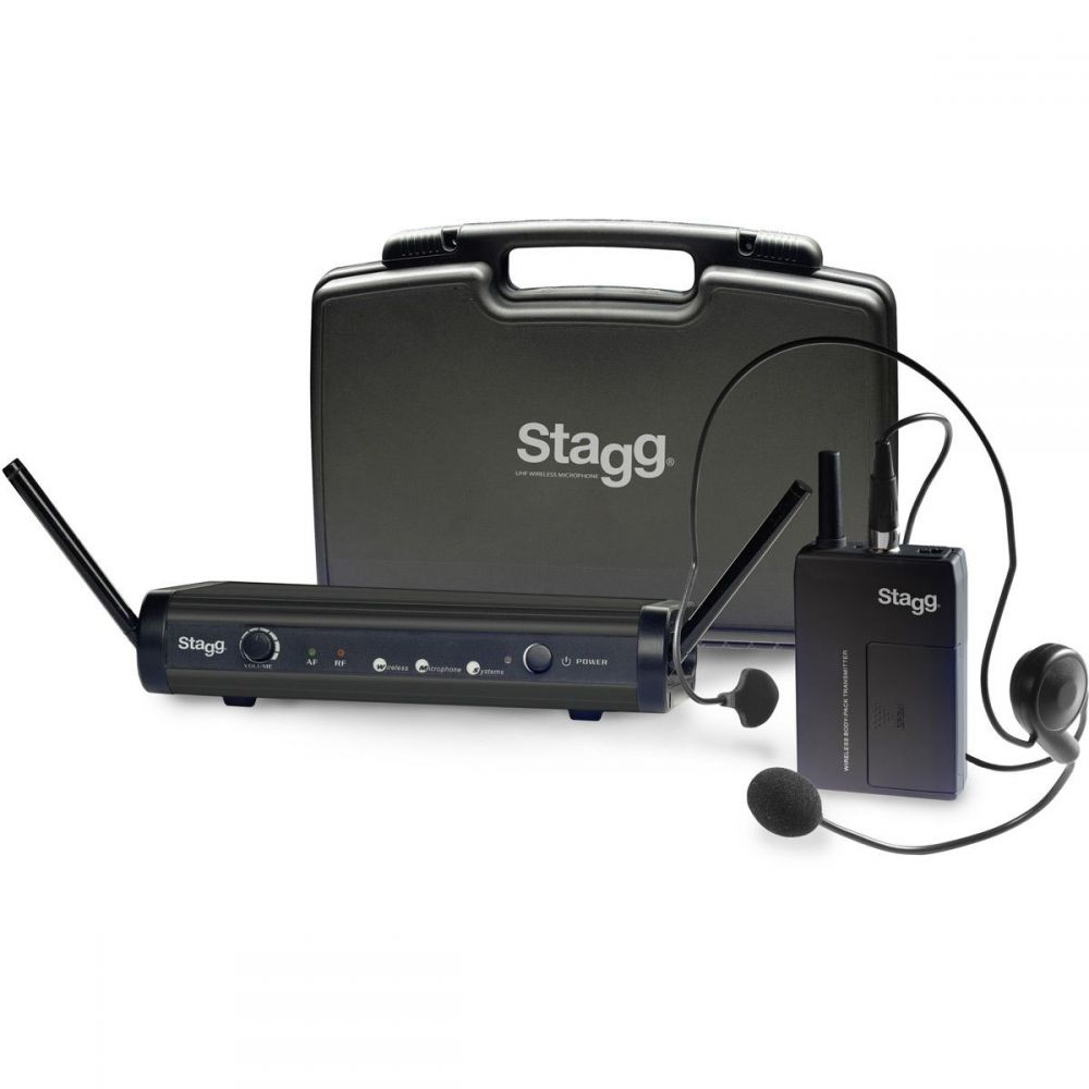 Stagg SUW-30-HSS-D - nagłowny system bezprzewodowy UHF