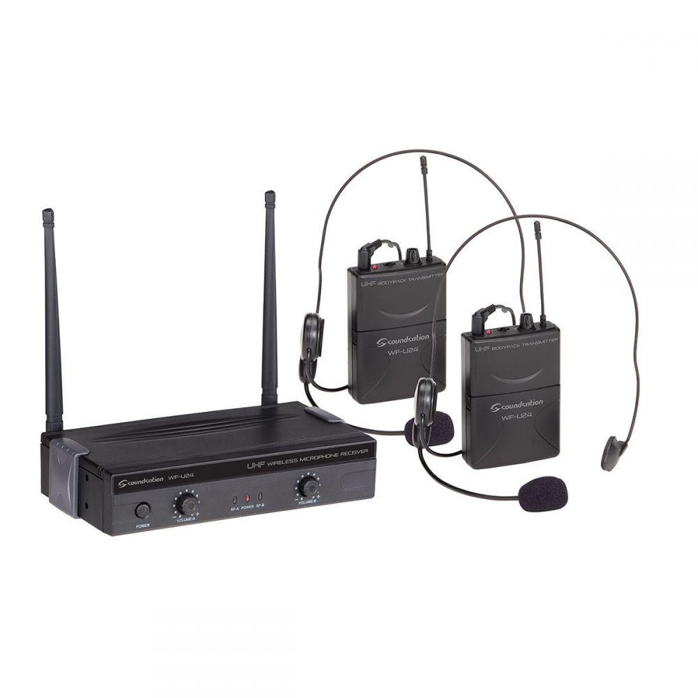 Soundsation WF-U24PP - system bezprzewodowy UHF