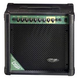 Stagg 20 GA DSP - combo gitarowe 20 Watt z procesorem efektów