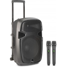 Stagg RE-VOLT12U EU - zestaw kolumna + 2 mikrofony