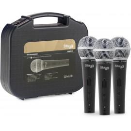 Stagg SDM50-3 - zestaw mikrofonowy