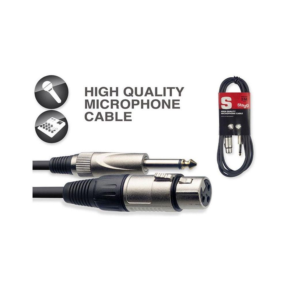 Stagg SMC3XP - kabel mikrofonowy 3m